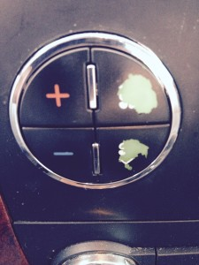 repair worn a/c buttons