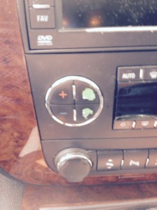 Acadia A/C Buttons